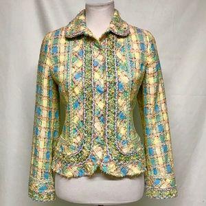 Carlisle pastel patchwork jacket